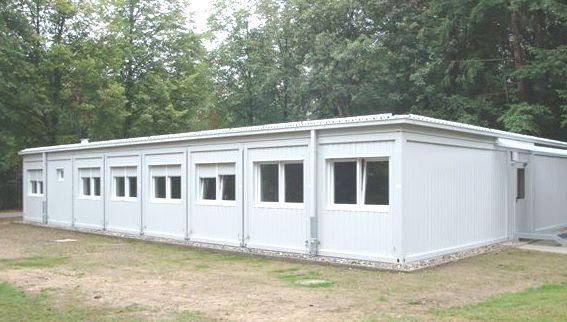 Containeranlage für PTB, Braunschweig