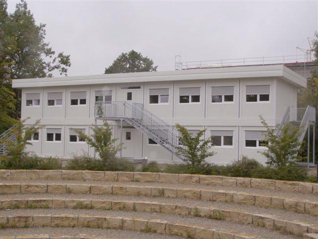 Containeranlage - Schule Dorfen