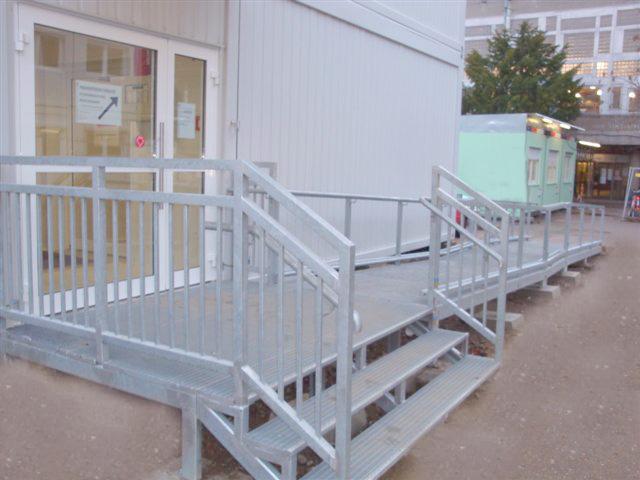 Modulare Containeranlage für Universität zu Köln