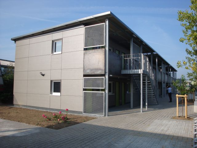 Containeranlage - Modulargebäude