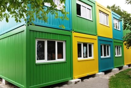 Containeranlage Schule