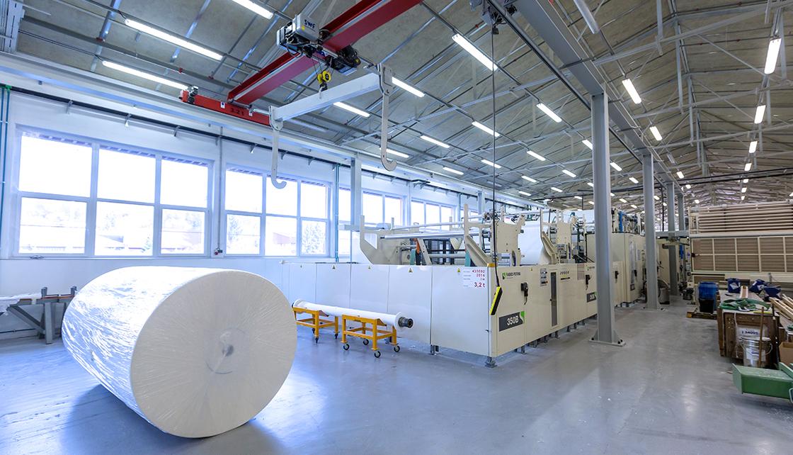 Production of Hygienic paper, Krapina Croatia (6)