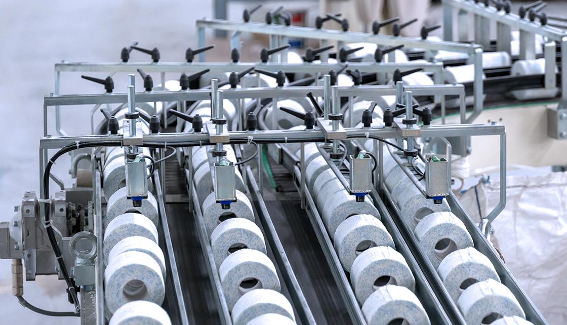Production of Hygienic paper, Krapina Croatia (9)