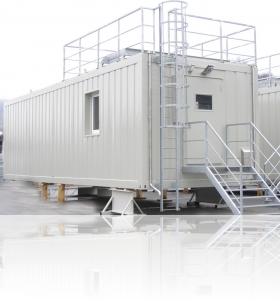 Techical shelter for Siemens